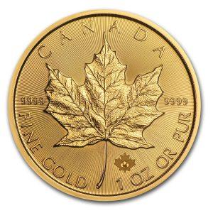 Maple Leaf 1 troy ounce gouden munt 2016