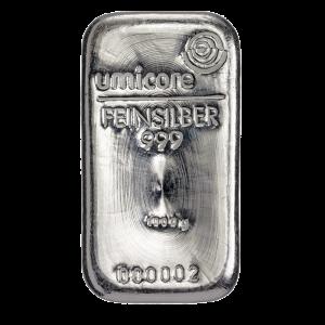 Umicore 1000 gram zilverbaar