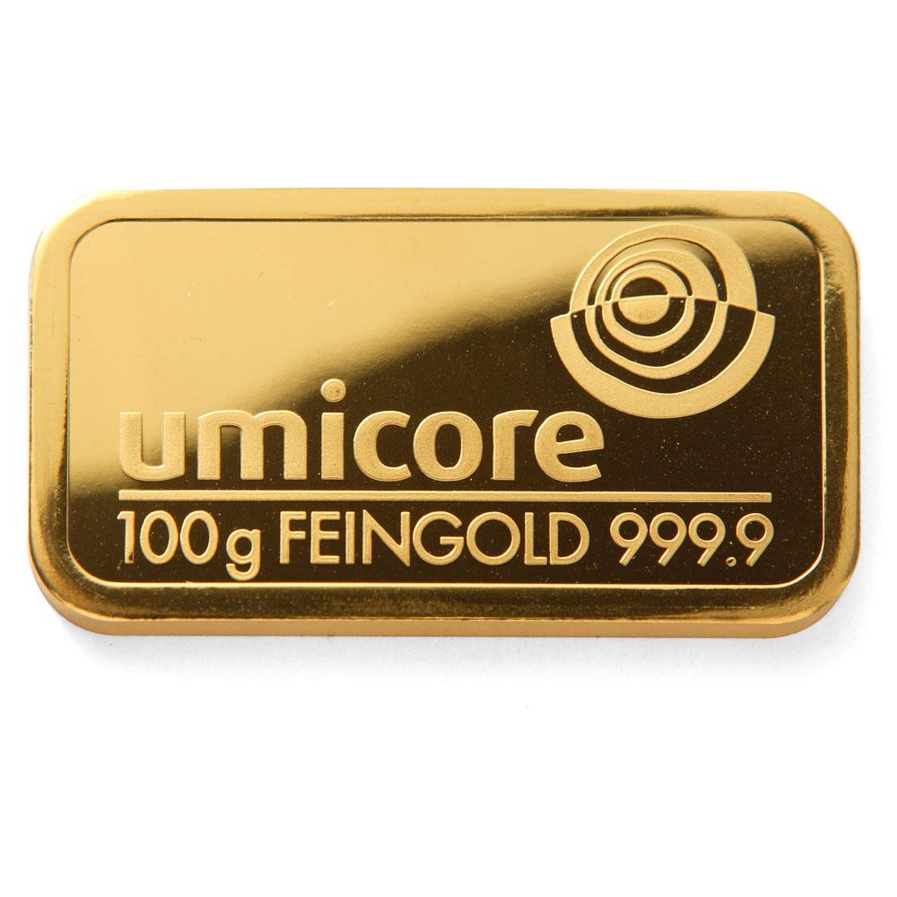 100 gram goud waarde