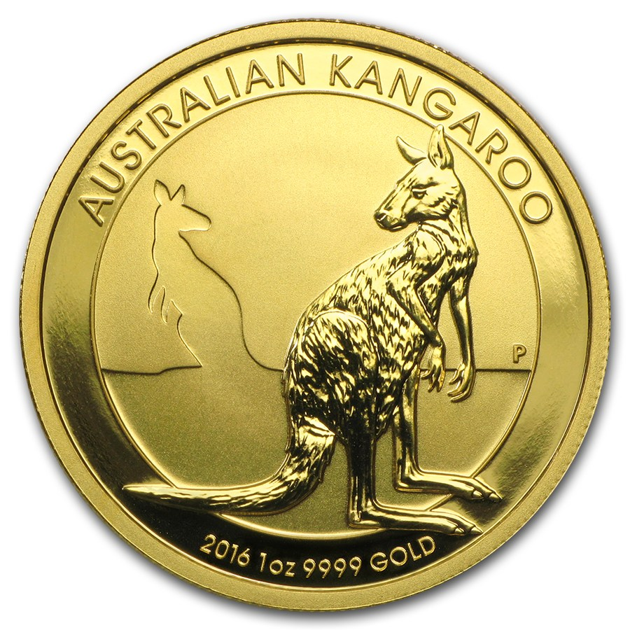 Kangaroo 1 troy ounce gouden munt 2016