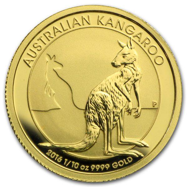 Kangaroo 1/10 troy ounce gouden munt 2016