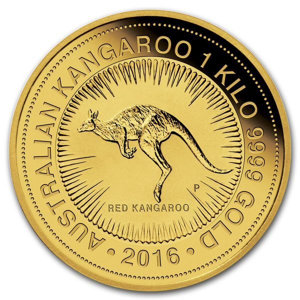 Kangaroo 1000 gram gouden munt 2016