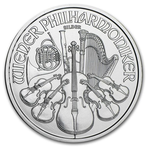 Philharmoniker 1 troy ounce Monsterbox zilveren munt