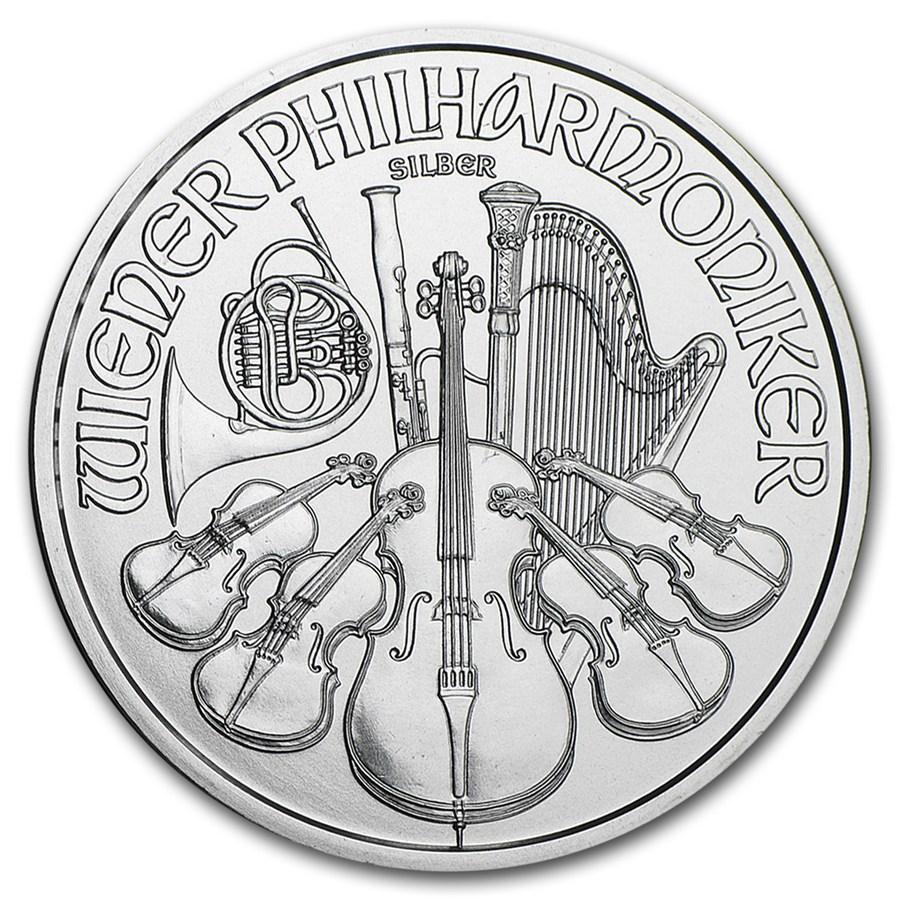 Philharmoniker 1 troy ounce Monsterbox zilveren munt