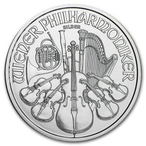 Philharmoniker 1 troy ounce zilveren munt 2016