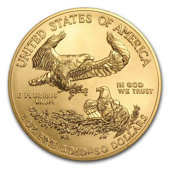 American Eagle 1 troy ounce gouden munt 2016