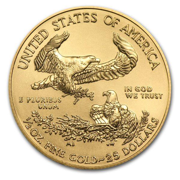 American Eagle 1/2 troy ounce gouden munt 2016