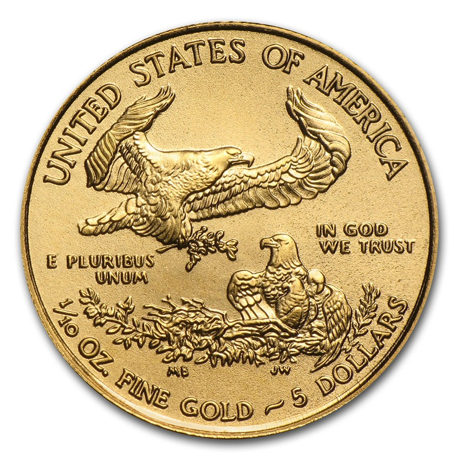 American Eagle 1/10 troy ounce gouden munt 2016