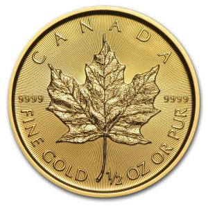 Maple Leaf 1/2 troy ounce gouden munt 2016