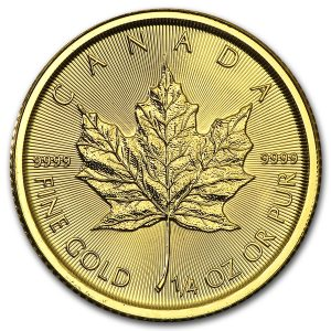 Maple Leaf 1/4 troy ounce gouden munt 2016