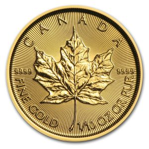 Maple Leaf 1/10 troy ounce gouden munt 2016