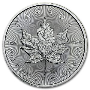 Maple Leaf 1 troy ounce Monsterbox zilveren munt 2016