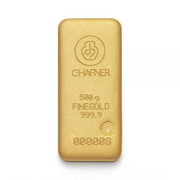 goud kopen hafner 500 gram