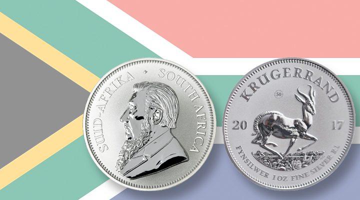 50 jarig bestaan Krugerrand gevierd met zilveren munt