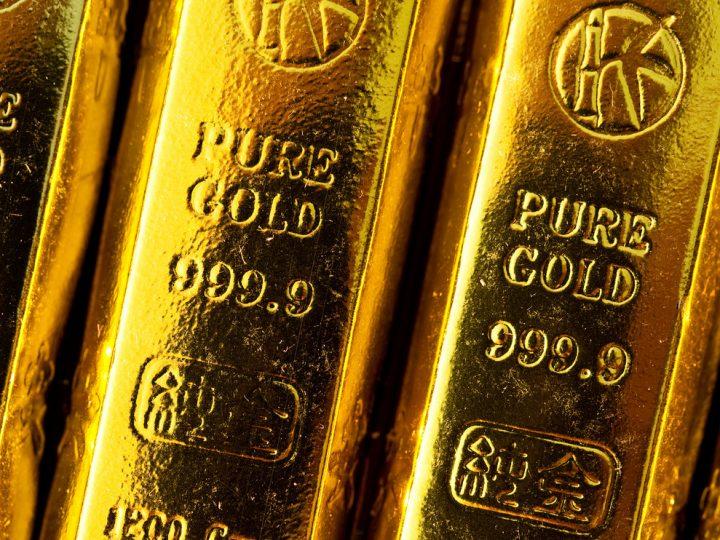 Goud keldert na verkooporder van $2 miljard