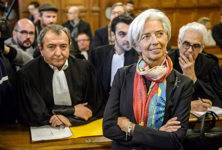 IMF-baas Lagarde schuldig, geen straf