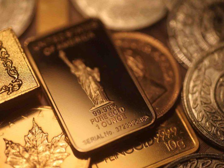 Vraag naar gouden baren en munten stijgt 11% in H1 2017