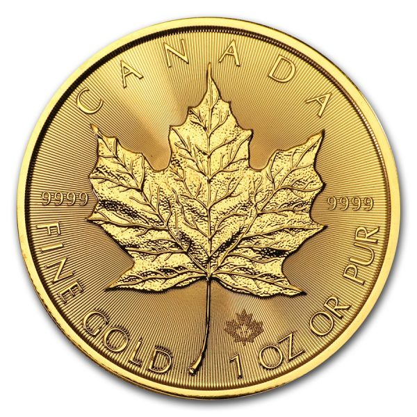 Maple Leaf 1 troy ounce gouden munt 2017