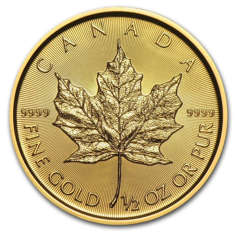 maple leaf 2017 1/2oz back