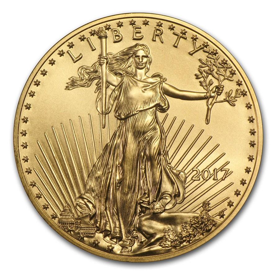 American Eagle 1 troy ounce gouden munt 2017