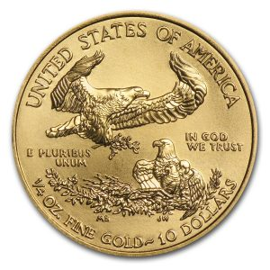 eagle 1/4 oz 2017 gold