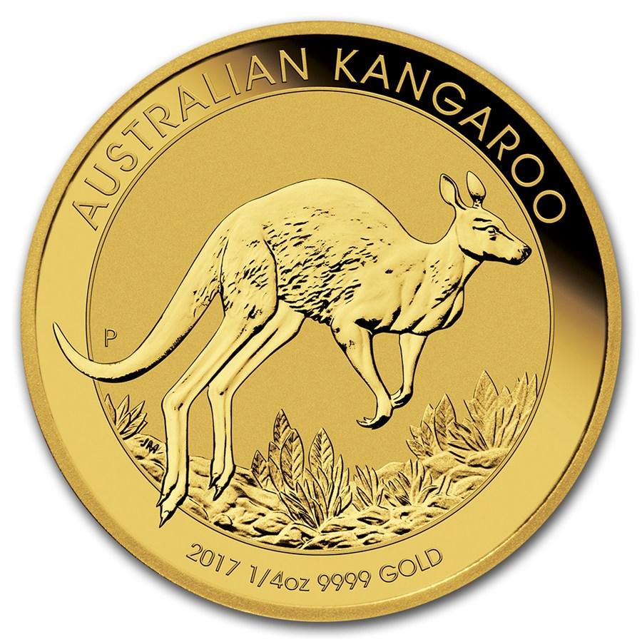 Kangaroo 1/4 troy ounce gouden munt 2017