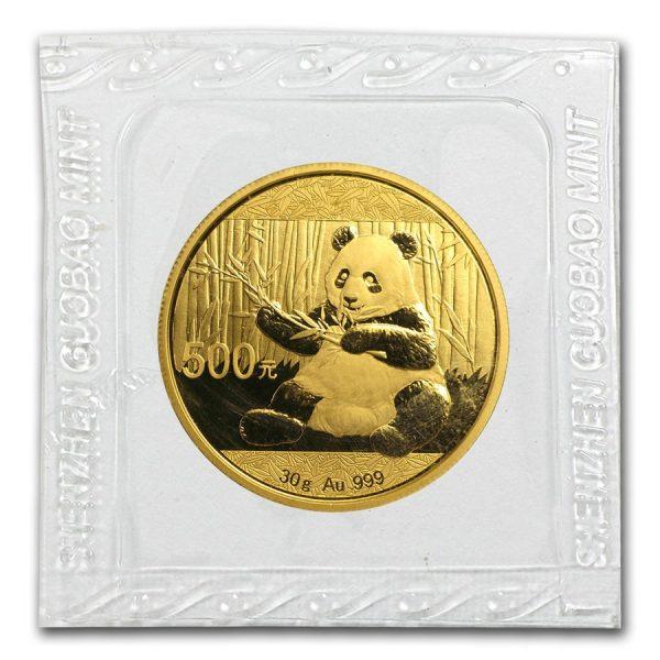 Panda goud 2017 30 gram