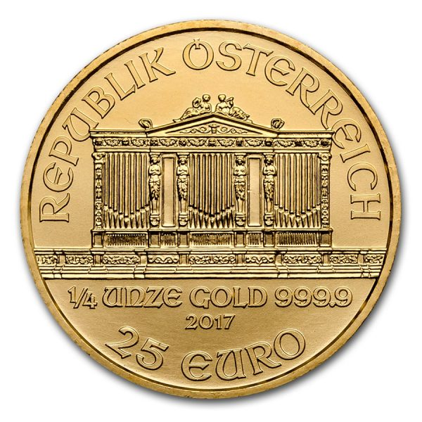 philharmoniker gold 1/4oz 2017 3