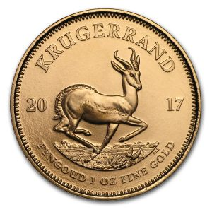 krugerrand 2017 1 oz gold 1