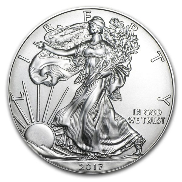 eagle 2017 1 troy ounce zilver