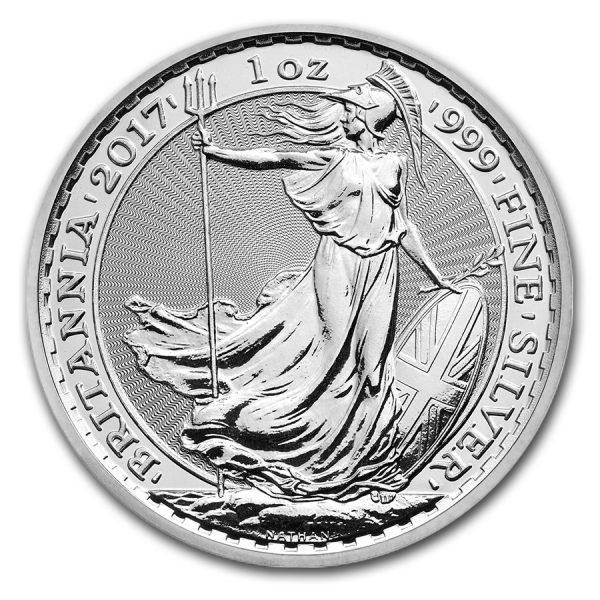 Britannia 1 troy ounce zilveren munt 2017