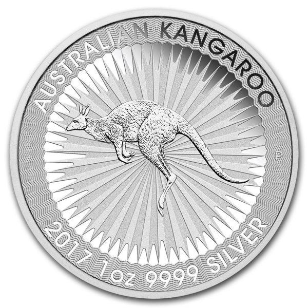kangaroo 2017 zilver 1oz 1