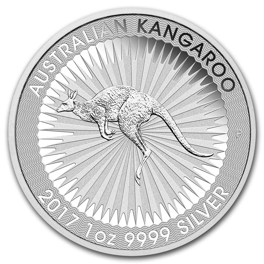 Kangaroo 1 troy ounce zilveren munt 2017