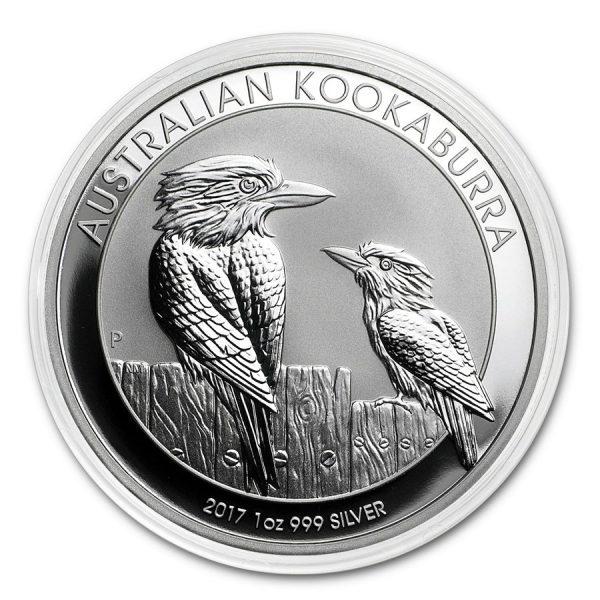 kookaburra 1 oz zilver 2017 2