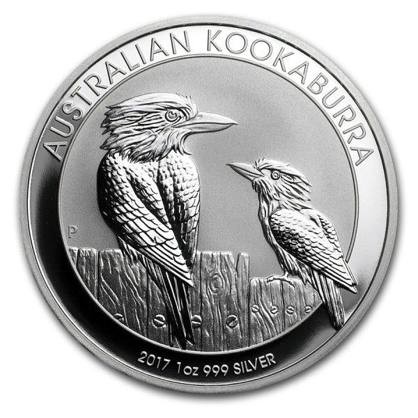 kookaburra 1 oz zilver 2017