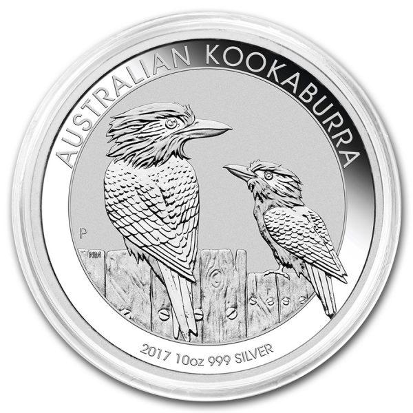 zilver Kookaburra 10 oz 2017 2