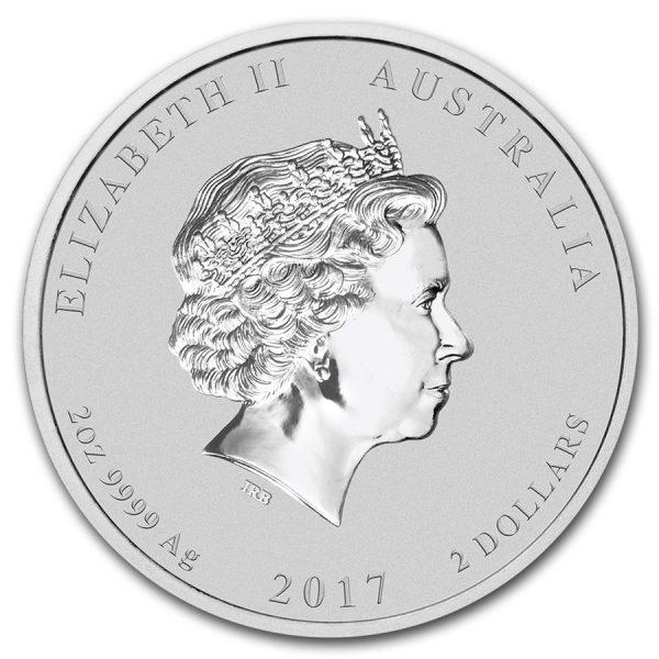 Lunar 2 oz 2017 zilver 2