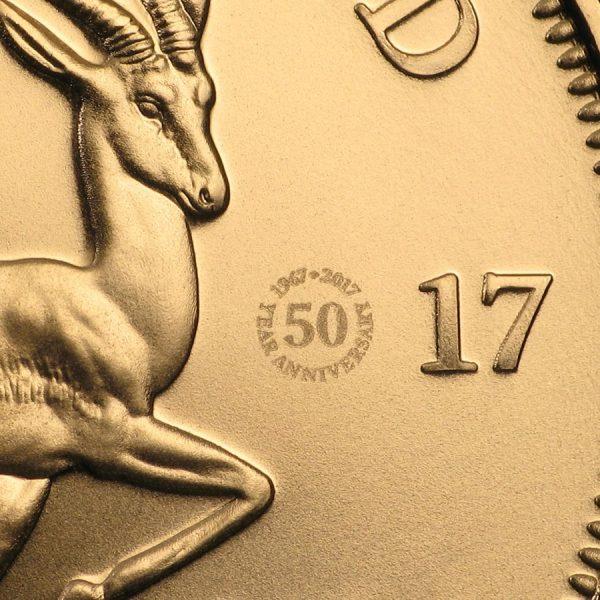 kruggerrand 1 oz 50 jaar goud 1