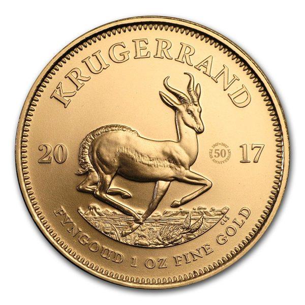 kruggerrand 1 oz 50 jaar goud 3