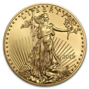 American Eagle 1/4 troy ounce gouden munt 2018