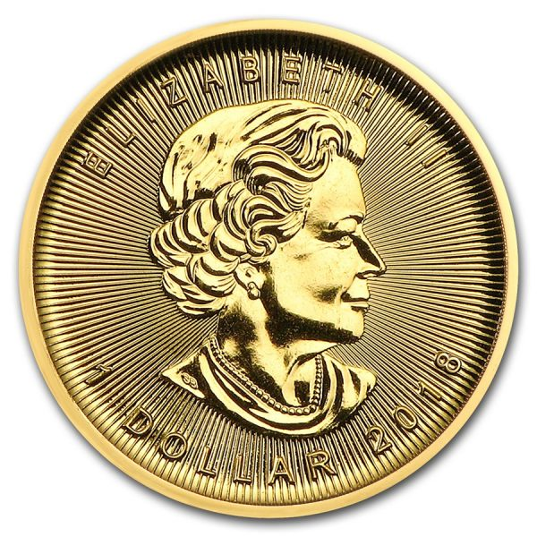 maple leaf 1/20 gouden munt 2018