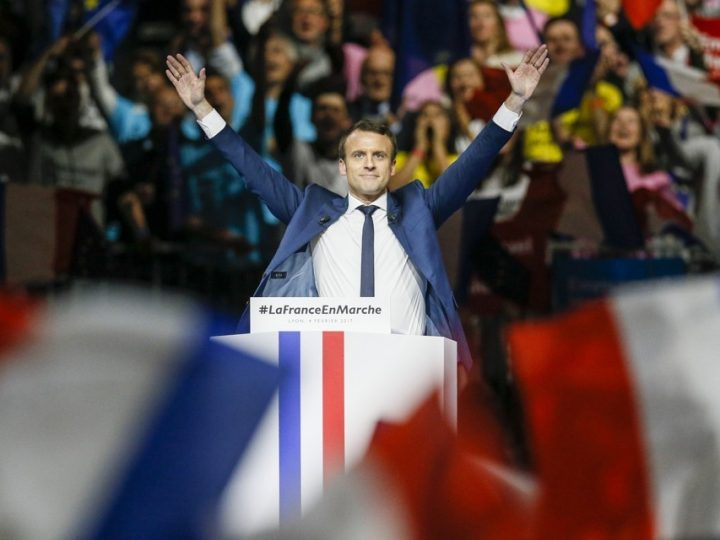 Overwinning Macron reeds ingeprijsd op financiële markten