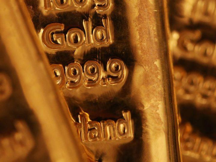 Goud in Euro bereikt laagste punt van het jaar