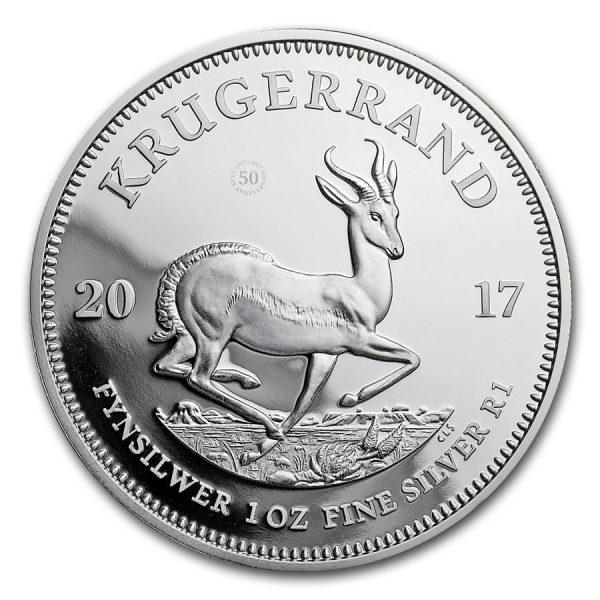 krugerrand zilver 1oz 1 goudverzekerd