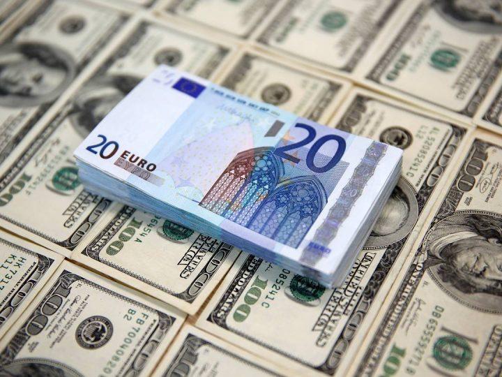 Euro bereikt hoogste peil in drie jaar