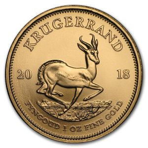 Krugerrand 1 troy ounce gouden munt 2018