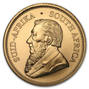 Krugerrand gouden munt 1 troy ounce 2018