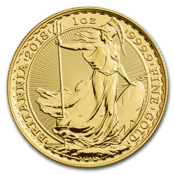 Britannia 1 troy ounce gouden munt 2018
