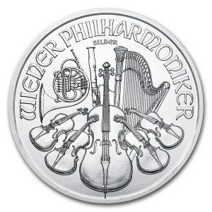 Philharmoniker 1 troy ounce zilveren munt