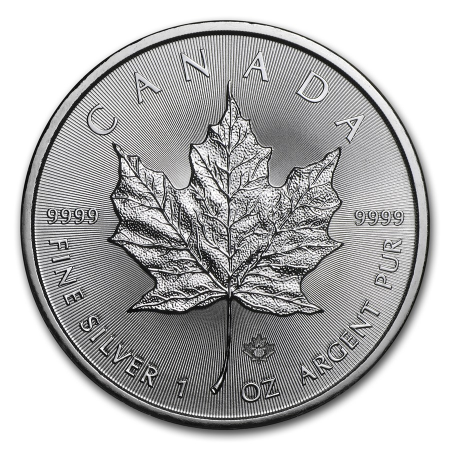 Maple Leaf 1 troy ounce zilveren munt